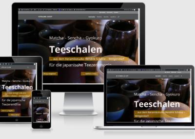 Teeschalen Keramikstudio Hendrik Schöne